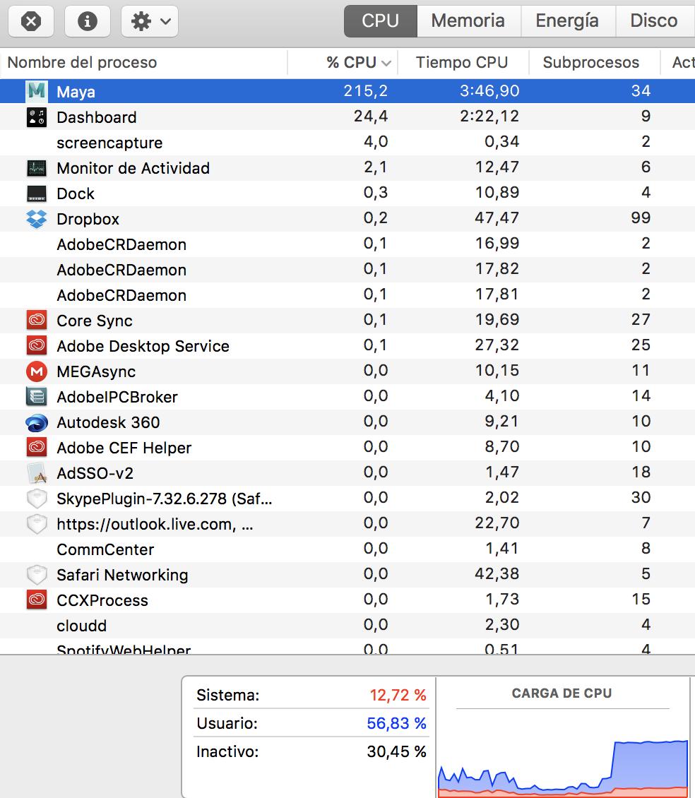 Maya 2017 Update 3 working bad in iMac - Autodesk Community- Maya