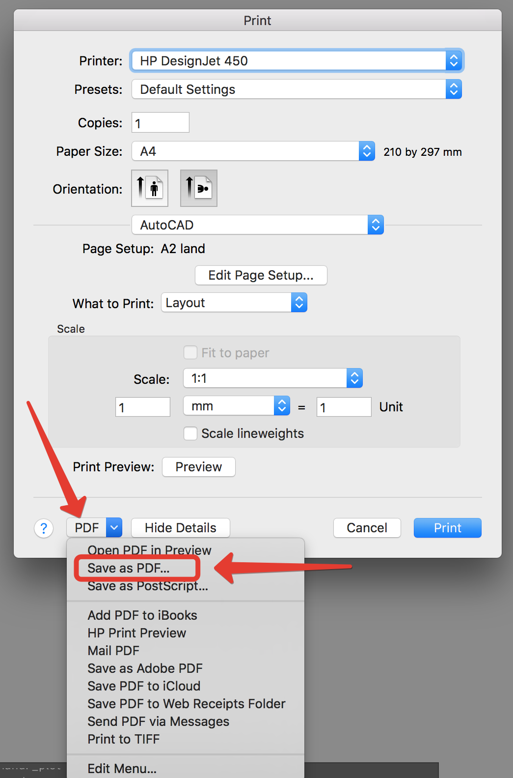 Solved: saving as pdf - Autodesk Community- AutoCAD for Mac
