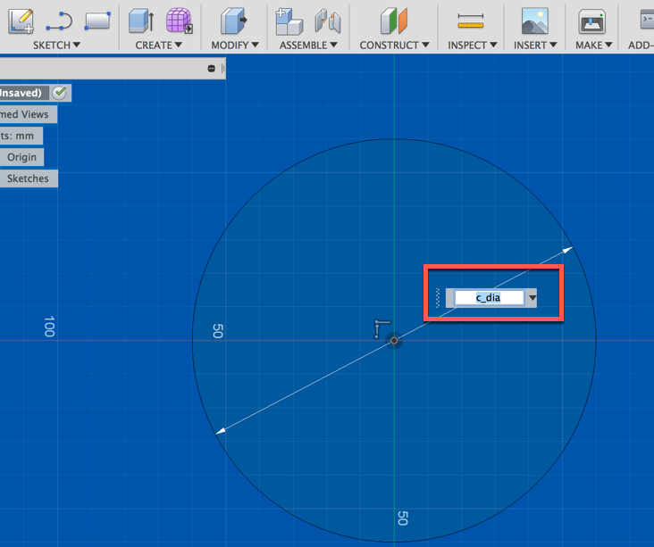 How do I change the dimensions of a circle? - Autodesk