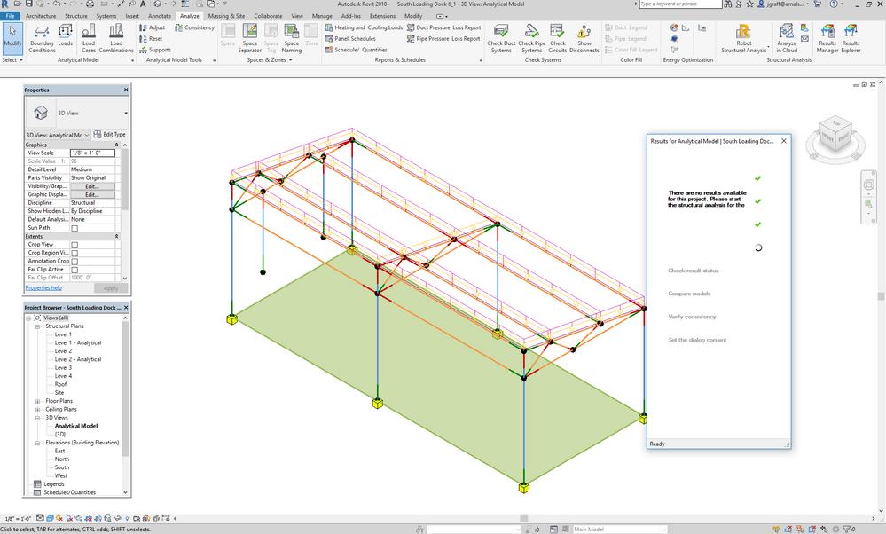 Structural Analysis Results Explorer error - Autodesk