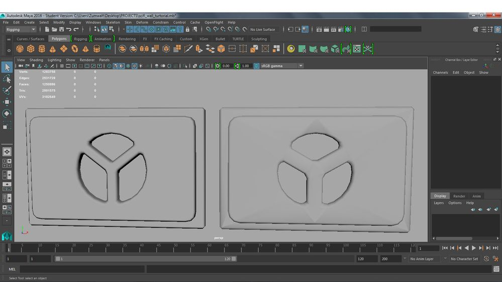 Face weighted normals - Autodesk Community- Maya