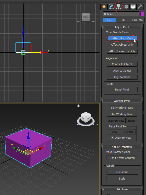 Pivot changed to wireframe - Autodesk Community- 3ds Max