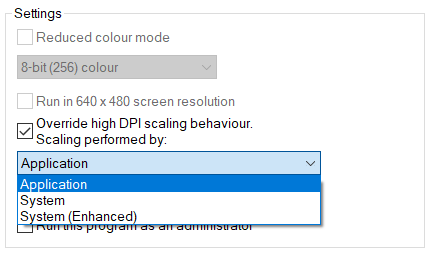 Blurry text on High DPI display - Autodesk Community- Fusion 360