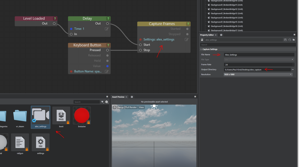 Can't capture frames with Stingray - Autodesk Community