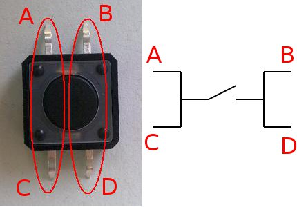 push button wiring diagram 4 pin reverse camera wiring diagram 4 pin momentary push button in eagle? - autodesk community