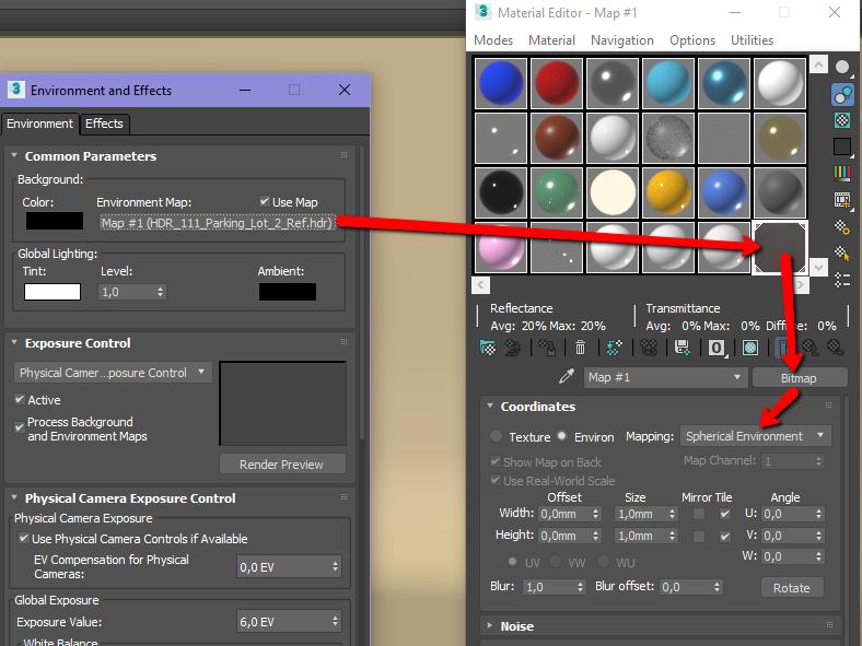 Solved: 3D Studio MAx 2018 - Arnold HDRI background image