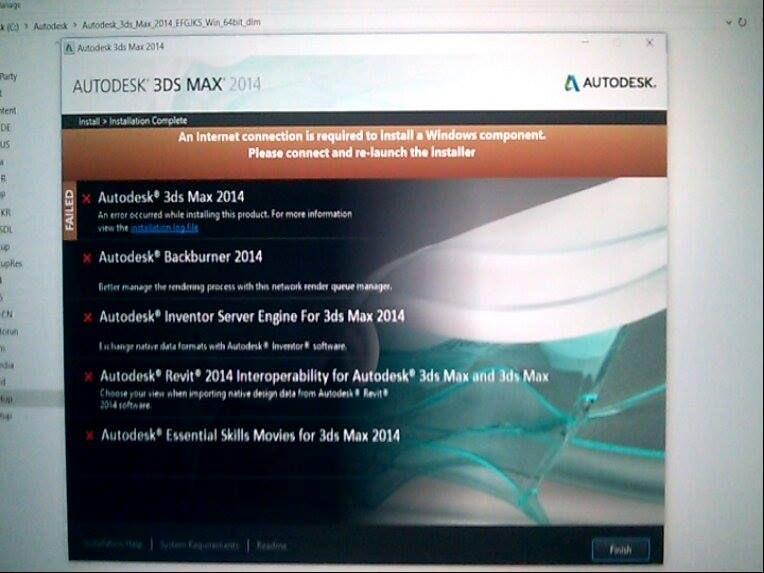 3ds max 2014 installation error - Autodesk Community- 3ds Max