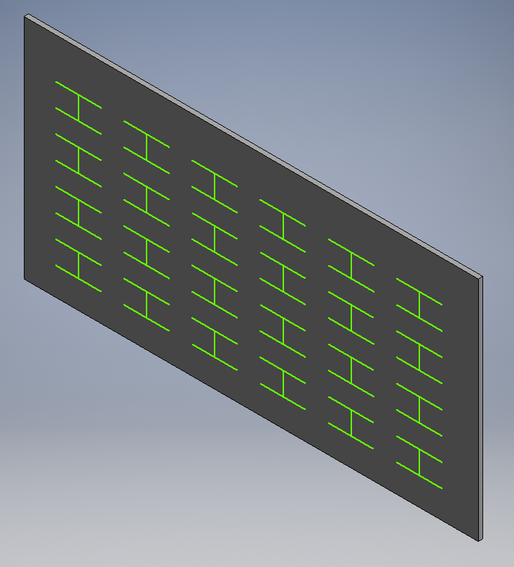 Solved: Making and patterning a zero-width cut (for waterjet