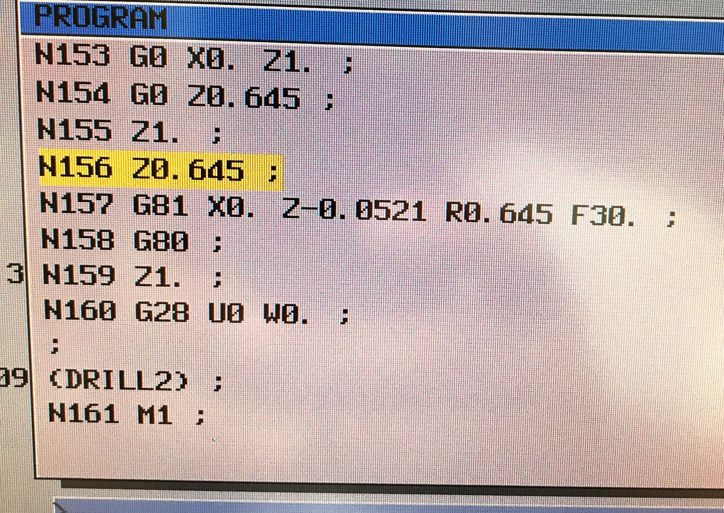 Solved: G code alarm with Fanuc 21i - Autodesk Community
