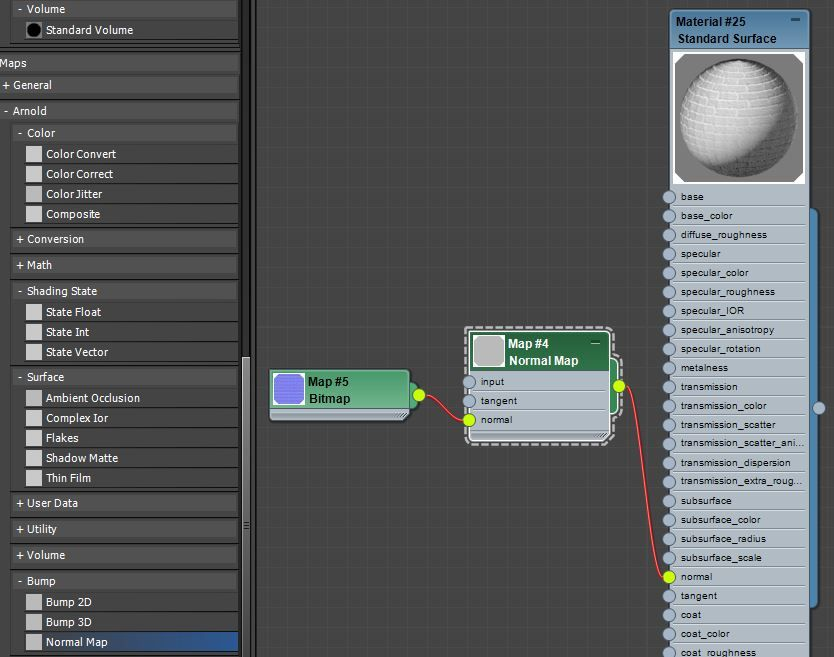 Viewing normals in 3ds max