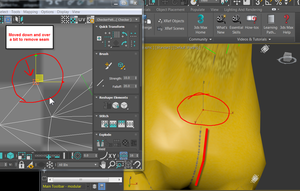 Solved: Problem with exported fbx - doesn't show in-game