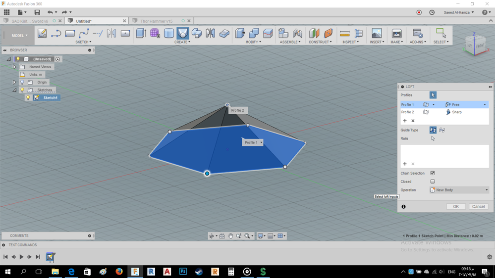 Solved: polygon shape design in fusion 360 - Autodesk
