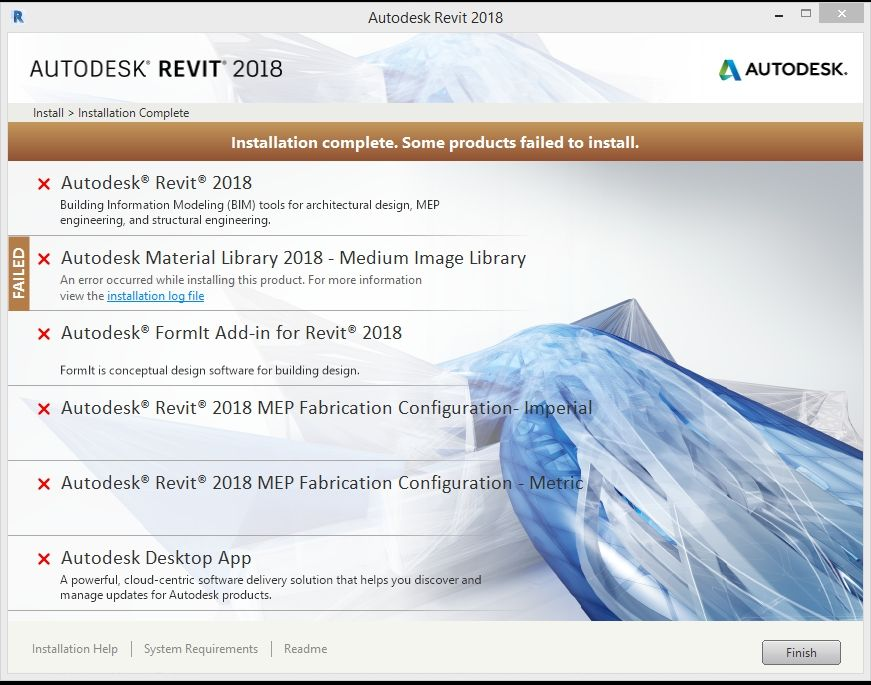 Revit 2018 Material Library Download Problem !! - Autodesk Community