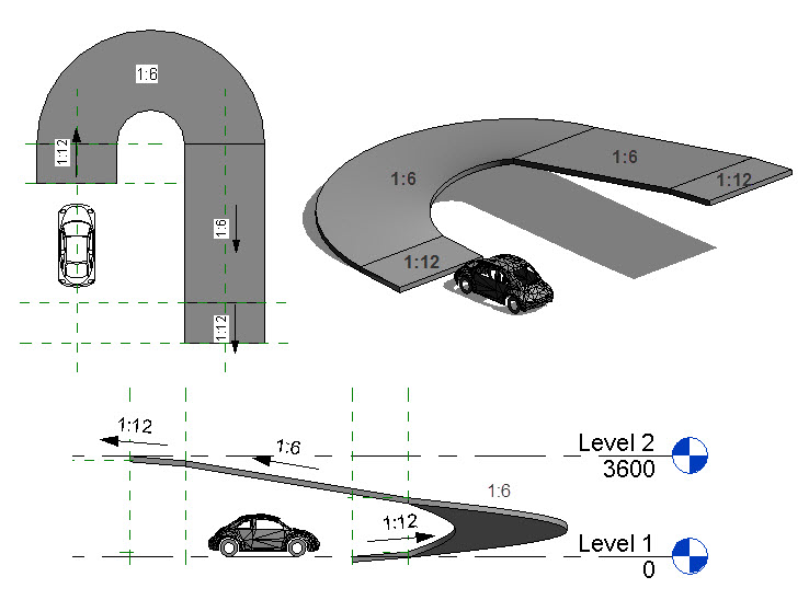 Solved Curved Ramps Autodesk Community