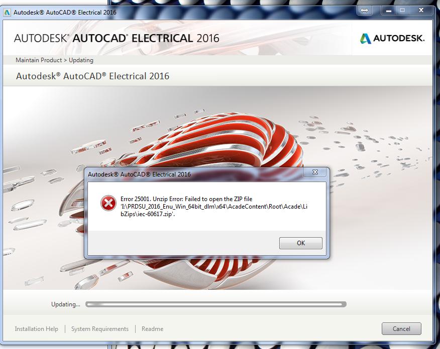 Solved: Error 25001, Unzip error: Failed to open the ZIP file
