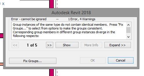 Solved: Revit 2018 can't copy simple model group - Autodesk