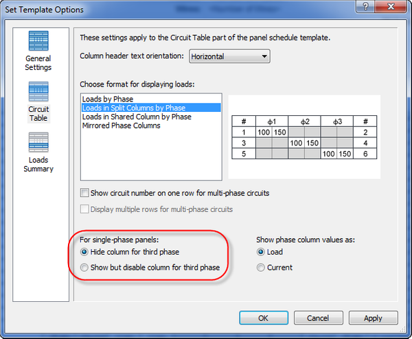 Single Phase Panel schedule shows as three phase Autodesk Community – Panel Schedule Template
