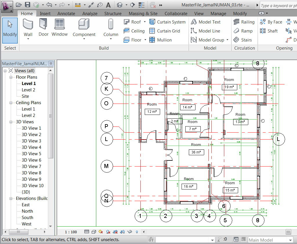 Drawing Lines In Revit : Issues with grid autodesk community
