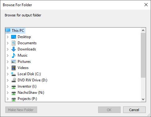 Solved: Folder Browser Needed for VBA 7 64 bit  - Autodesk Community