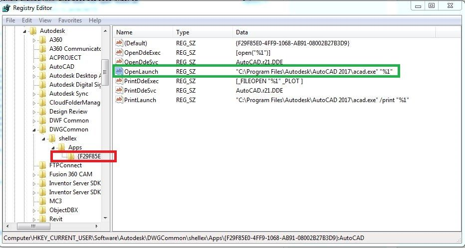 Double clicking DWG files does not open AutoCad - Autodesk