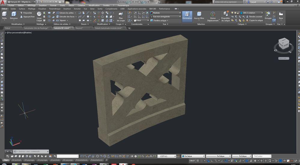 r solu comment d former un objet 3d selon une courbe autodesk community. Black Bedroom Furniture Sets. Home Design Ideas