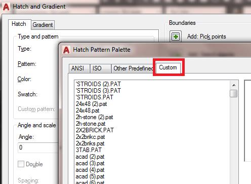 Solved: Saving a Hatch Pattern - Autodesk Community- AutoCAD