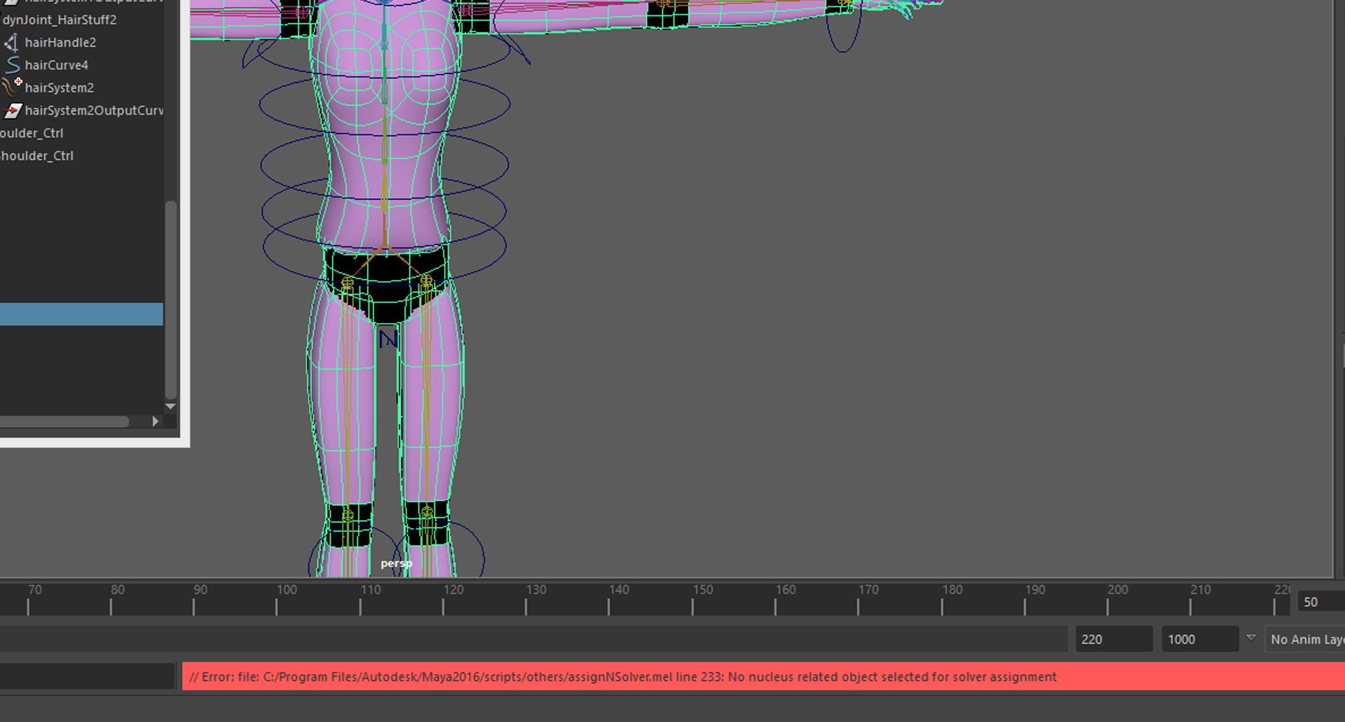 Maya 2016, need help on creating hair collision  - Autodesk