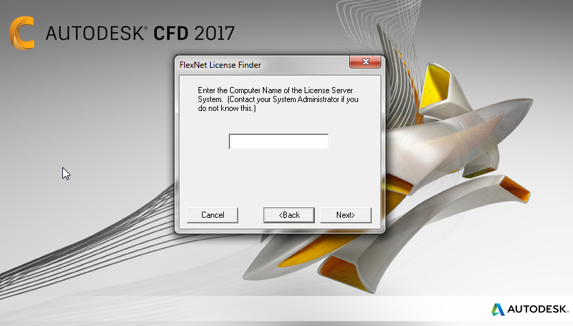 Solved: license for Autodesk simulation CFD 2017 - Autodesk