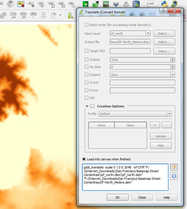 Unable to change a dem file project setup - Autodesk