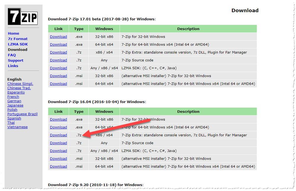 Solved: How to add 7-ZIP to the WD ENV file - Autodesk
