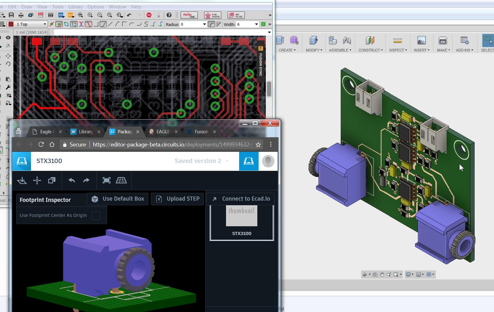 Eagle to Fusion Sync - Autodesk Community - Fusion 360