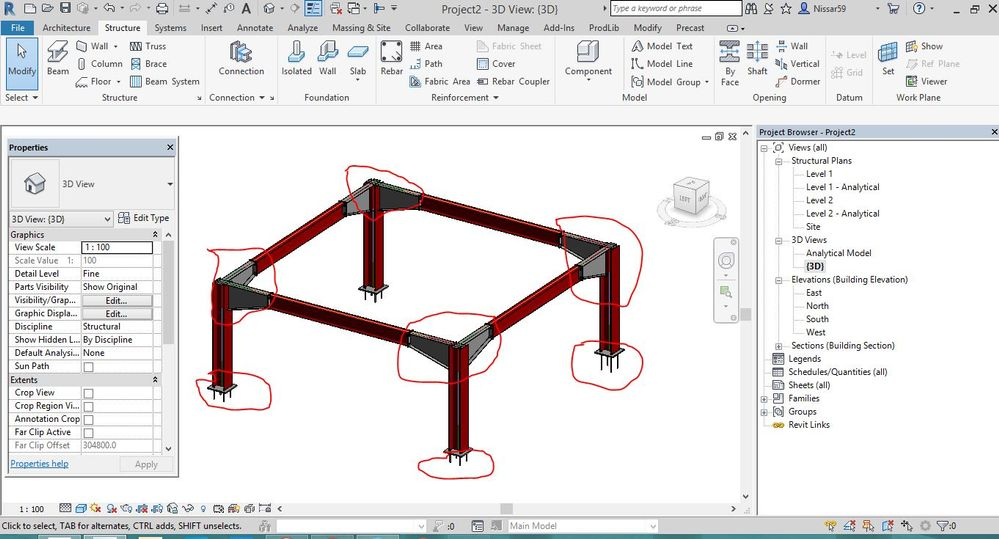Solved: Structural Steel Connections in Revit 2018