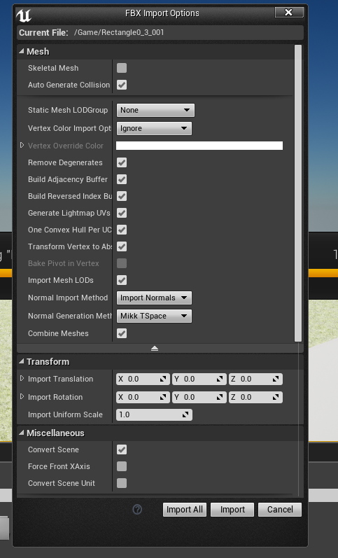 Sketchup to 3ds max to Unreal Engine 4 issues - Autodesk Community