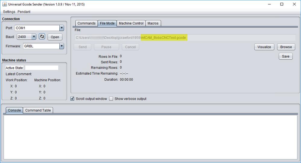 Solved: question for BobsCNC compatibility - Autodesk Community- ArtCAM