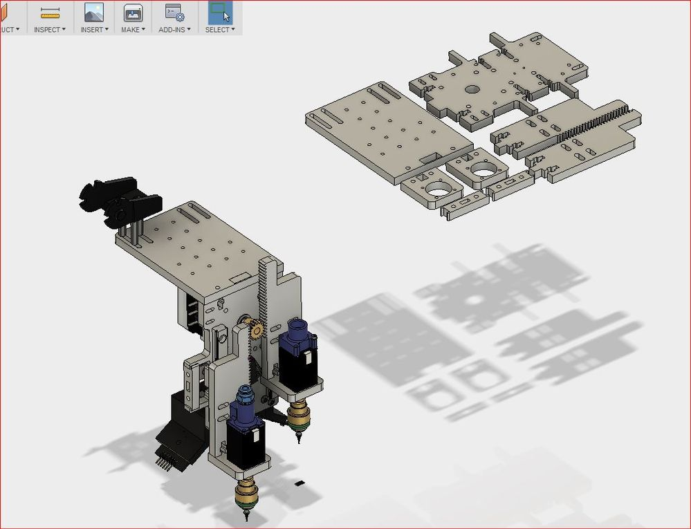 Solved: Fusion 360 DXF not working with flowXpert waterjet
