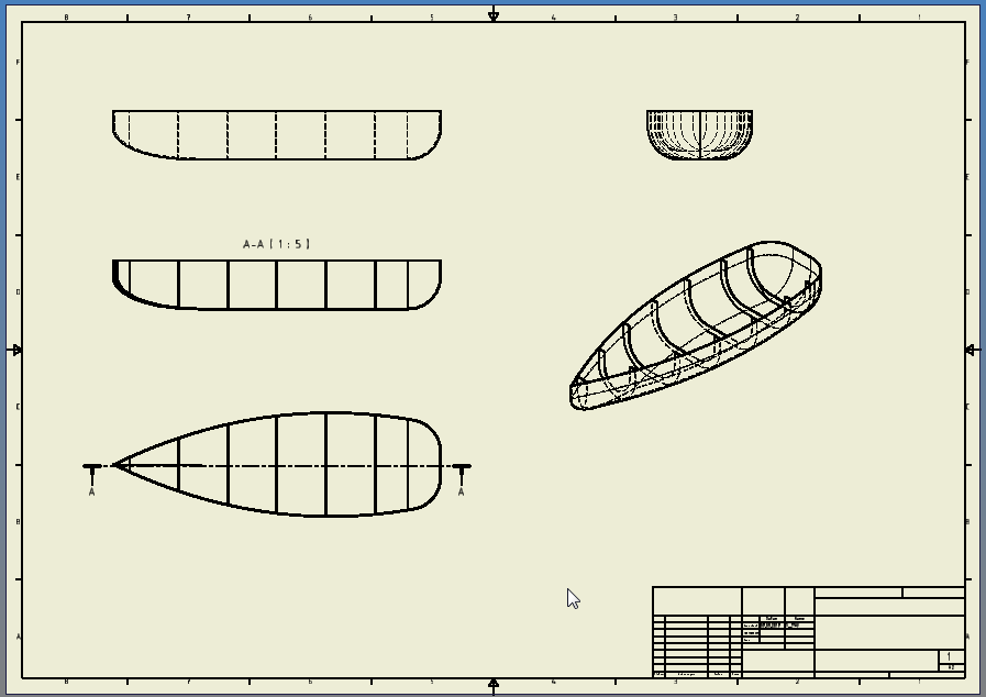 Boat Ribs Structure Autodesk Community