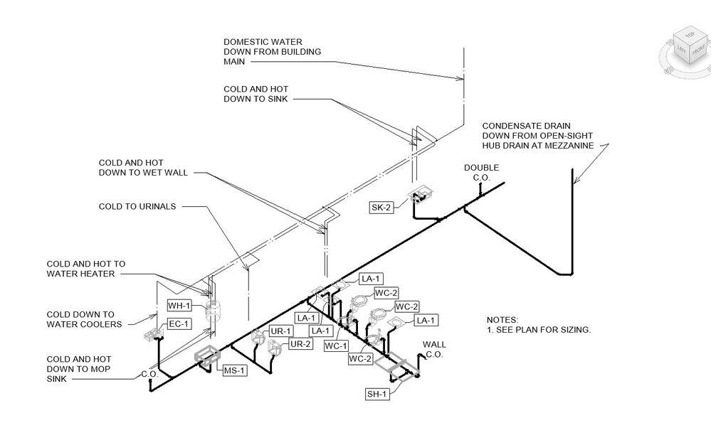 plumbing riser diagram details   30 wiring diagram images