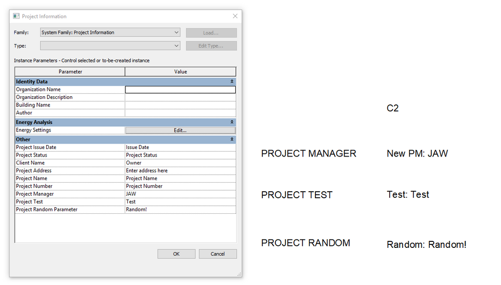 Solved: Revit 2018 Shared Parameters show in titleblock not in