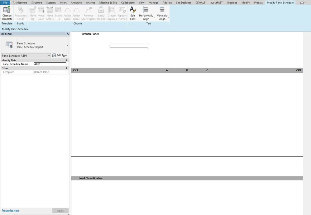 Panel Schedule Not Displaying Properly In 2018.1 - Autodesk Community