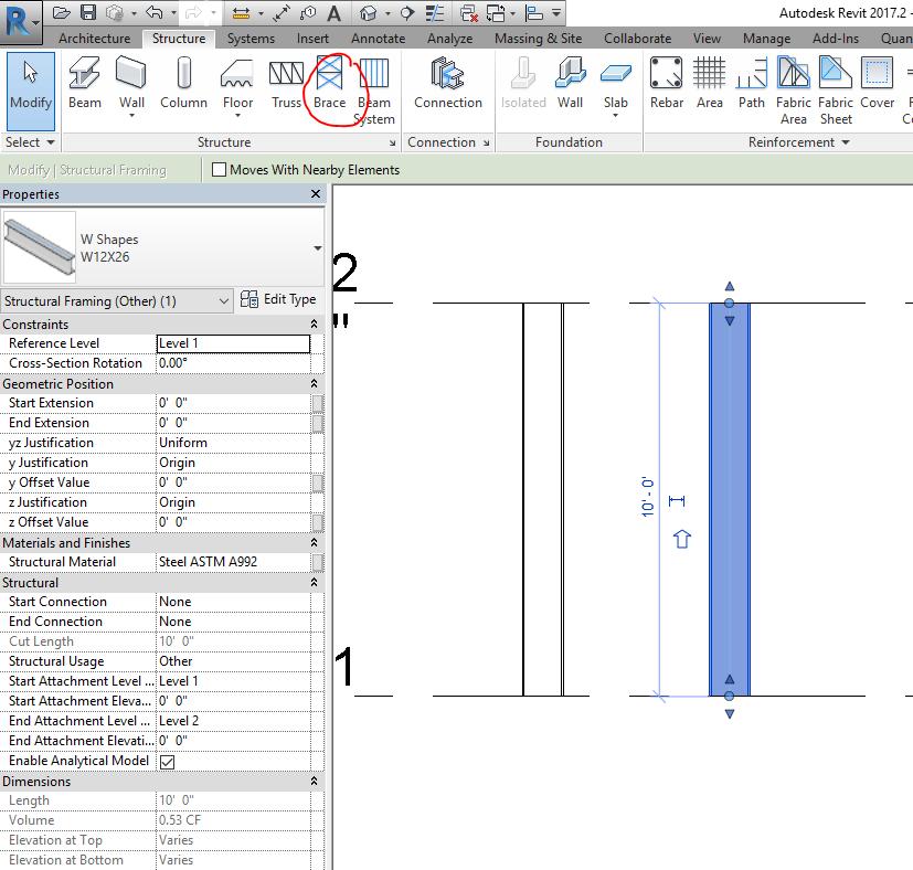 Solved: Vertical steel frame - Autodesk Community- Revit Products