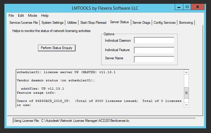 Network Licence Not Available - Autodesk Community- Installation and