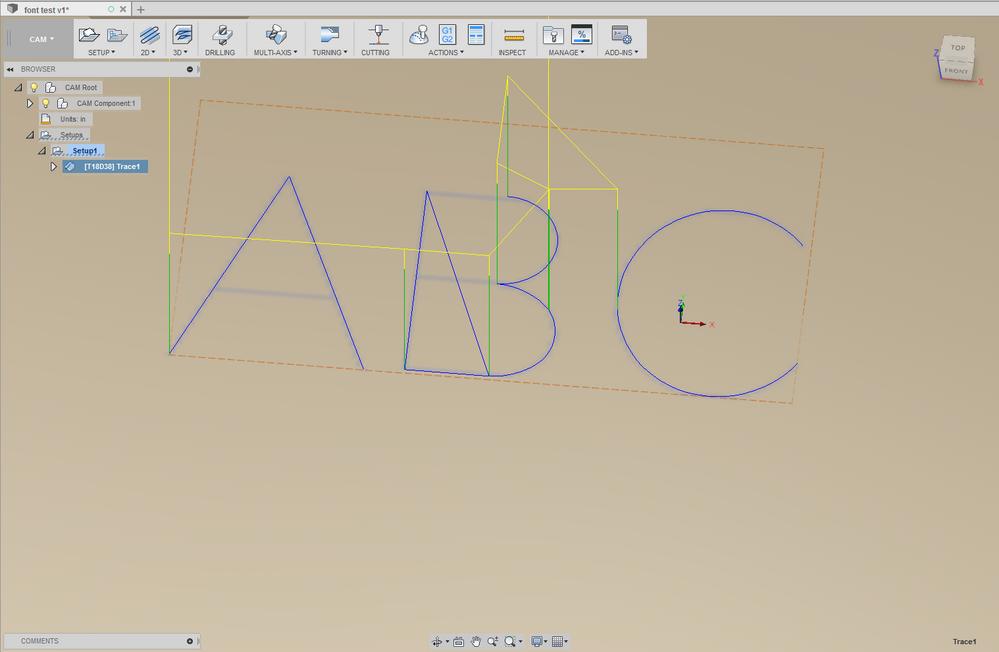 Solved: single line fonts - Autodesk Community- Fusion 360