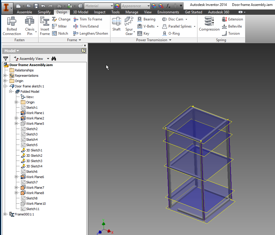 Solved Frame Generator Issues Autodesk Community Inventor