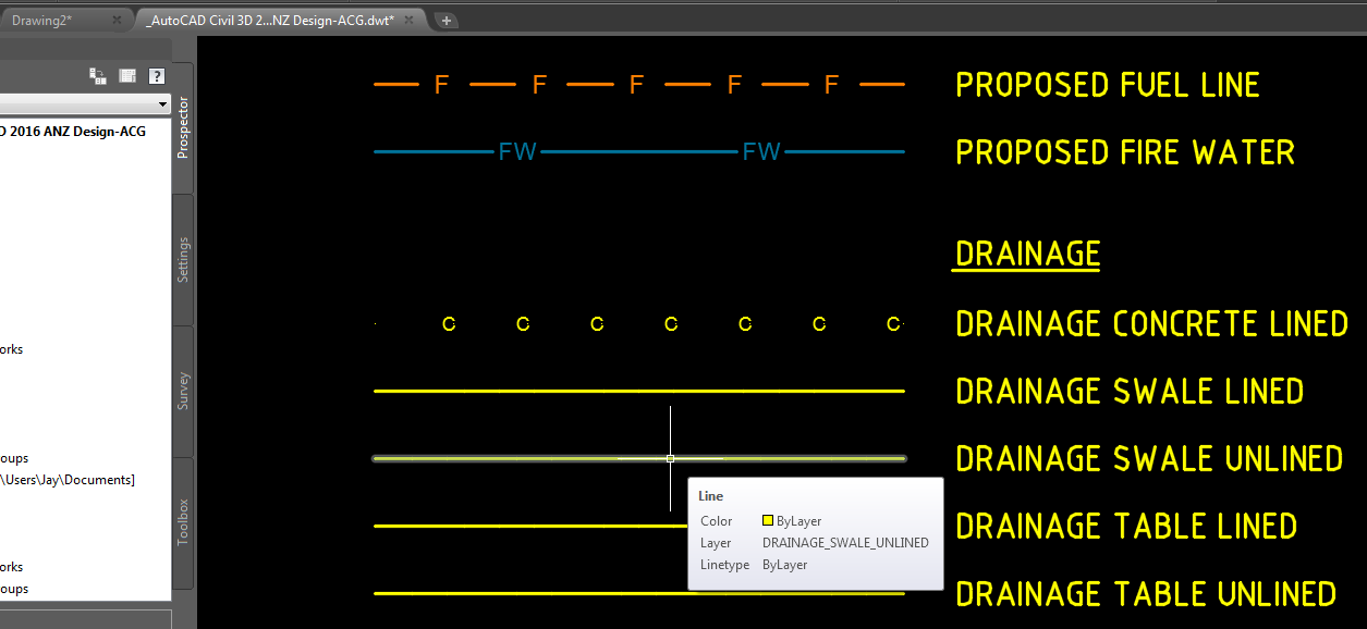 Solved: linetypes not showing correctly - Autodesk Community