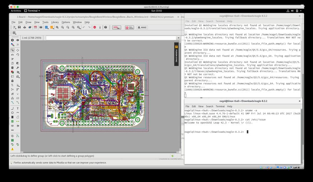 Cannot run EAGLE 8 3 2 on Ubuntu 17 04 64-bit - Autodesk