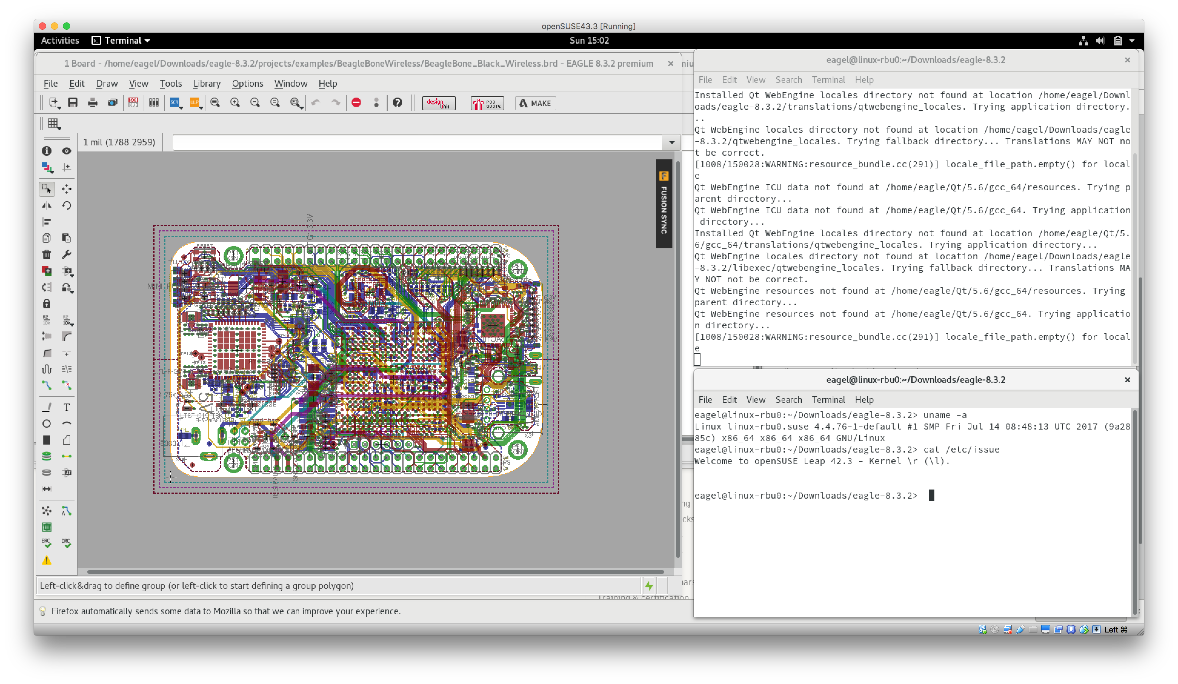 Cannot run EAGLE 8.3.2 on Ubuntu 17.04 64-bit - Autodesk Community ...