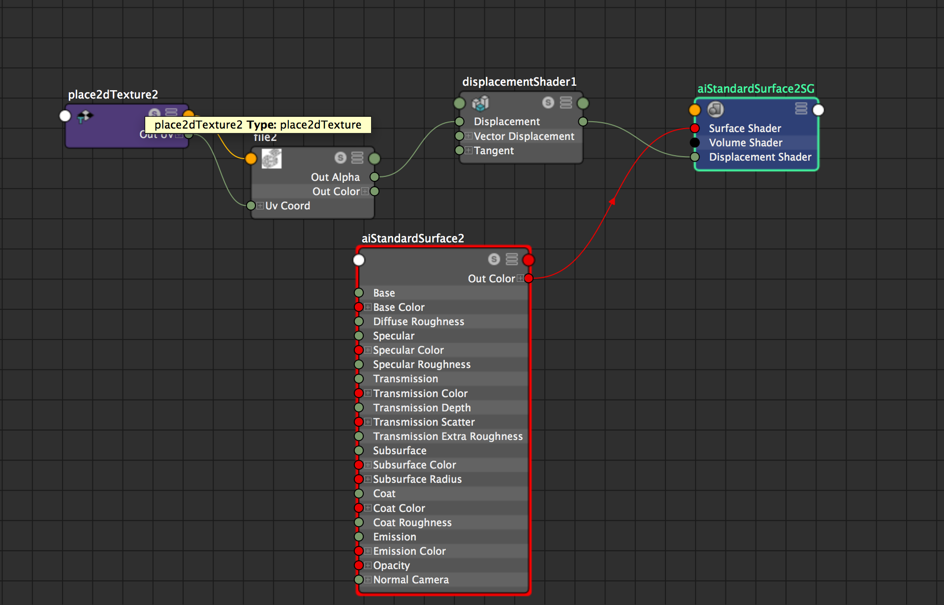 Solved: Problem with applying displacement map  - Autodesk
