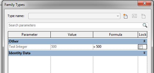 Solved: Formula-driven Family Type parameter  - Autodesk