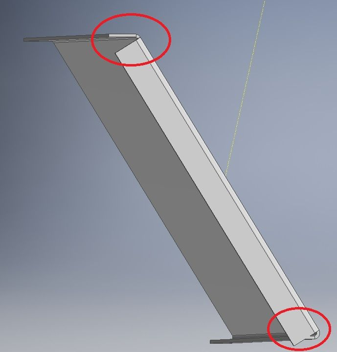 Solved: Sheet Metal Flanges On Angles - Autodesk Community- Inventor