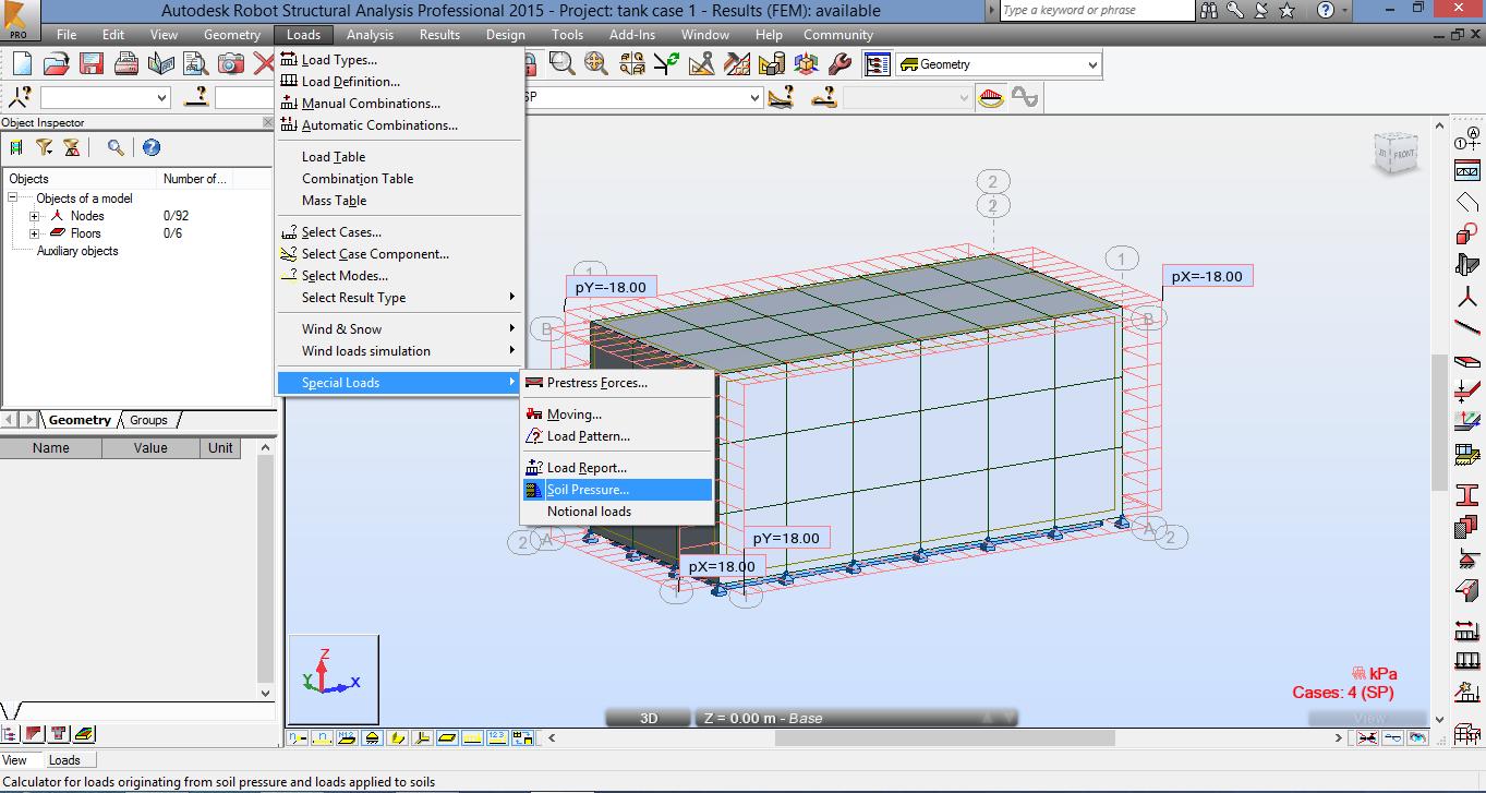 Solved: underground rectangular water tank design - Autodesk